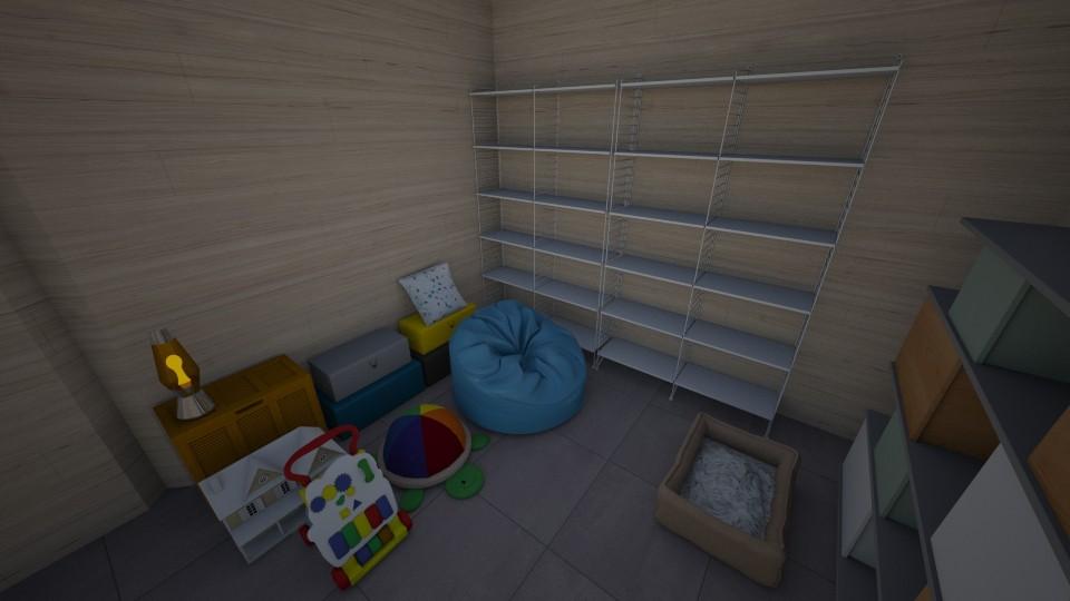 Storage Room - Modern - by saltyfries27