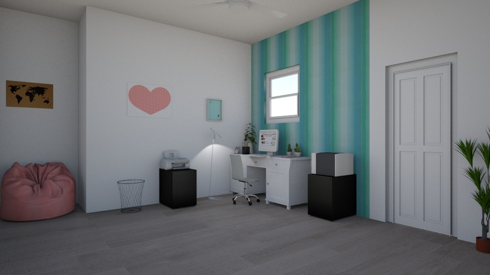 Office at Home - by designer71034
