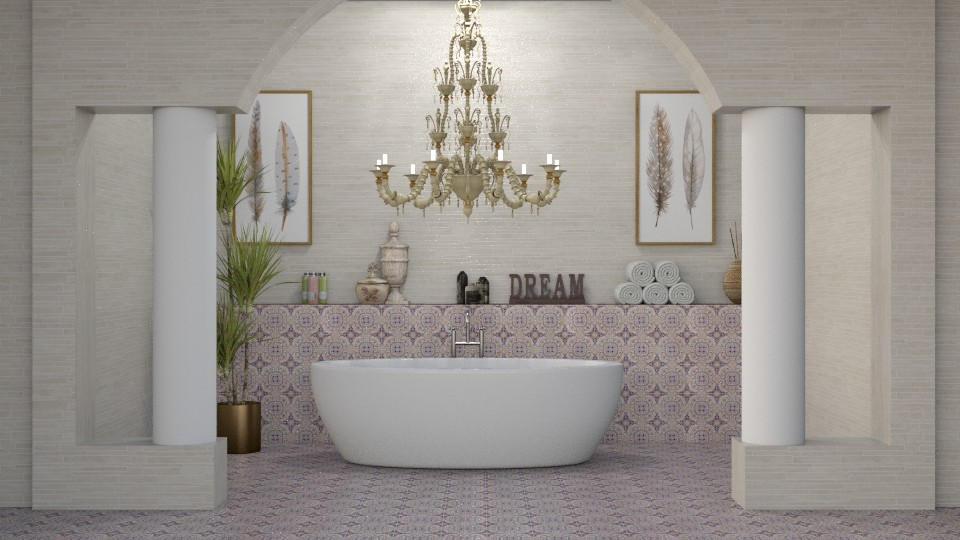 DREAM - Bathroom - by meggle