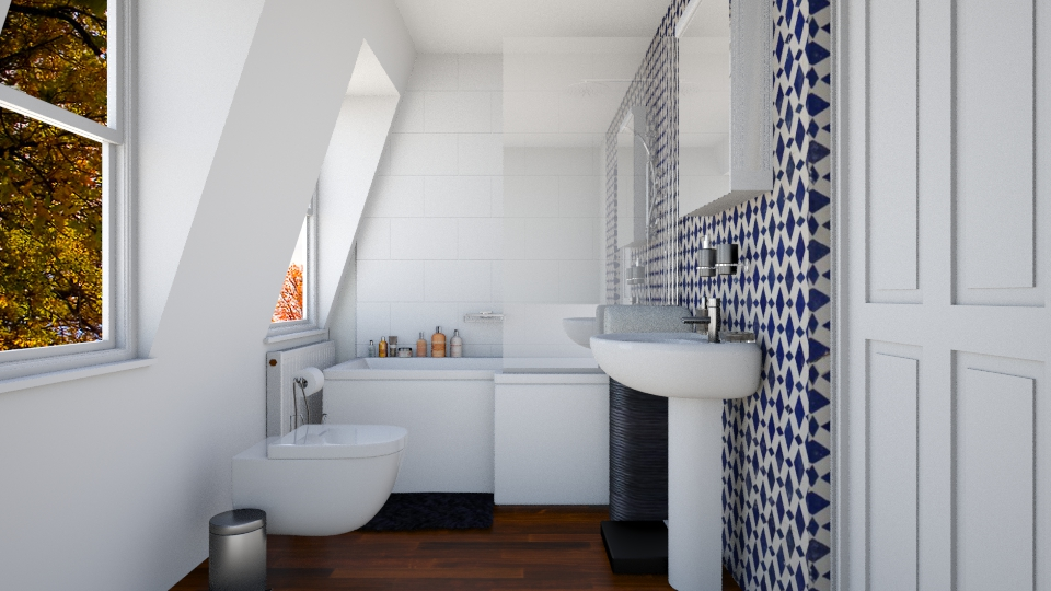 putney bathroom - Bathroom - by tiffmonaee