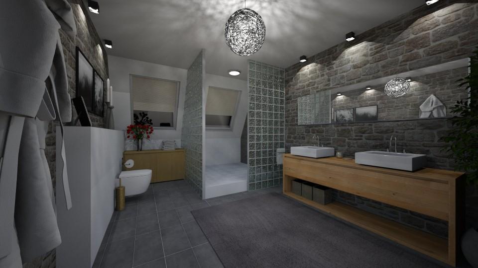Bathroom - Modern - Bathroom - by GIANNI VANCOMPERNOLLE