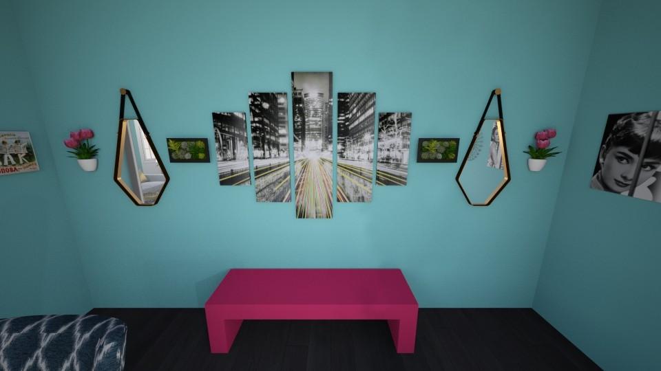 class - Living room - by evieJ