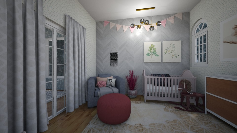 Baige - Kids room - by Life with Jenna