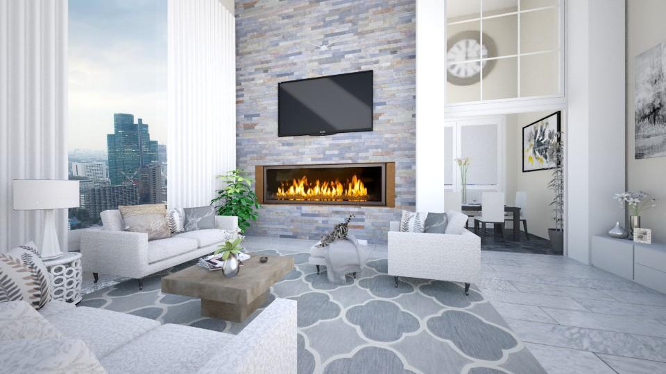 Blake - Modern - Living room - by Saharasaraharas