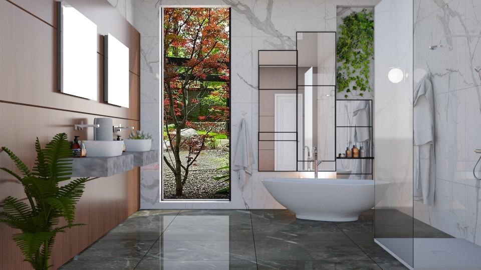 minimal bath - by barnigondi