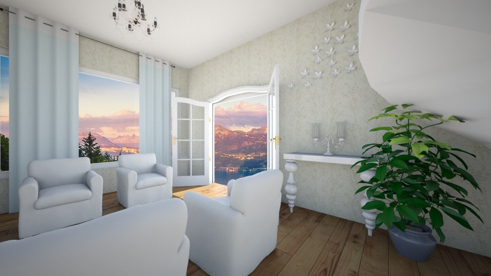 Modern Room - Living room - by valenietube
