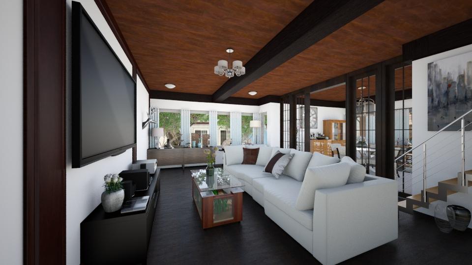 Ground Floor 2 - Living room - by tiffmonaee