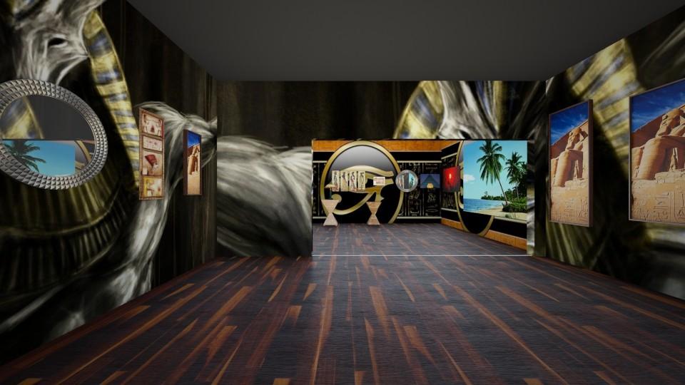 Egyptian Entrance  - by InteriorDesigner111