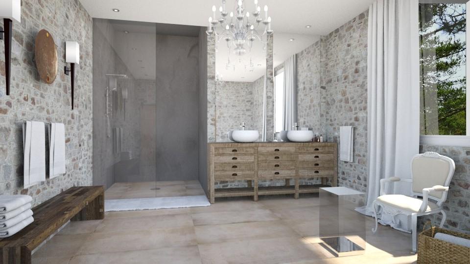 Salle de bain Mas - Bathroom - by Artichoses