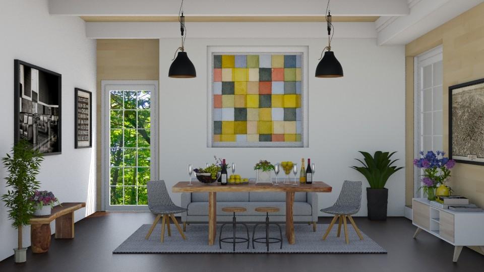 Dining Room_Scarlet - Modern - by ayudewi