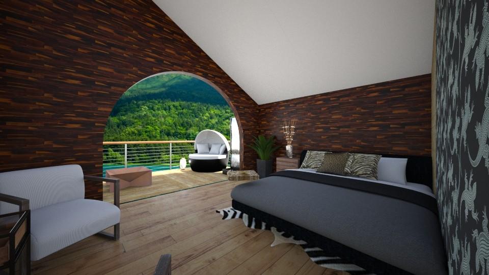 Jungle Bedroom - by GinnyGranger394