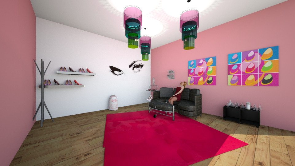 Glam room - Glamour - Bedroom - by Indiee