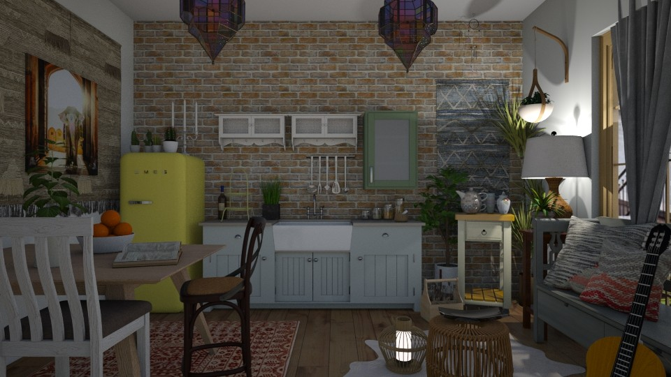 Bohemian Kitchen - Kitchen - by Ancy