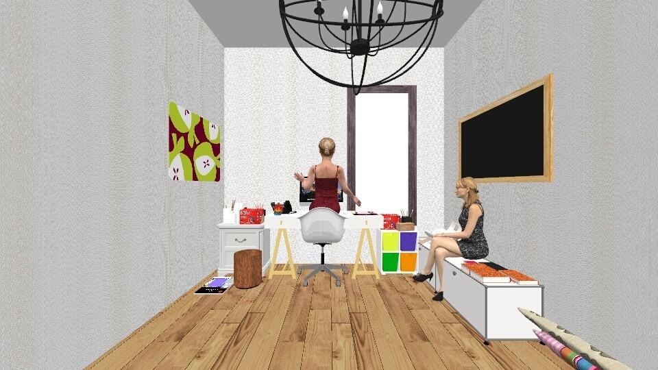 Fashion fun office - Modern - Office - by Shoe690