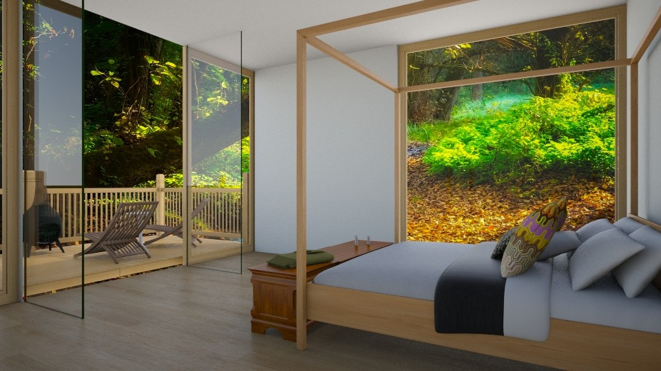Tropical Hotel - Bedroom - by Yate