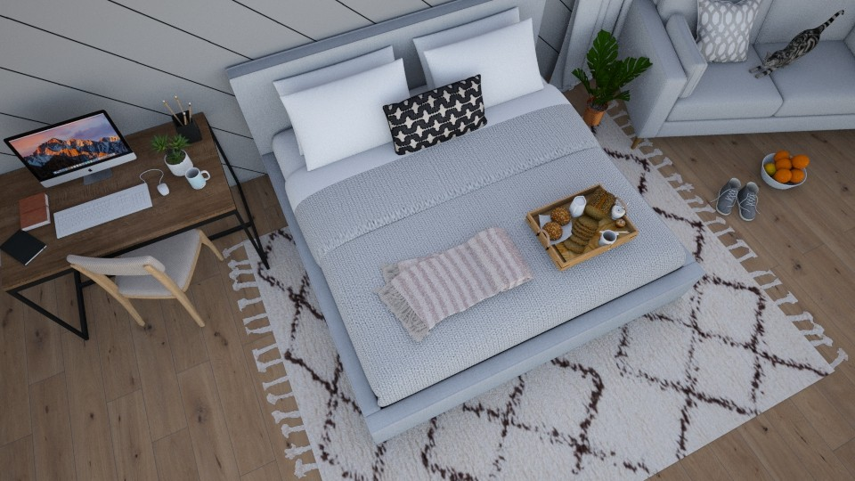 Top View - Bedroom - by lovedsign