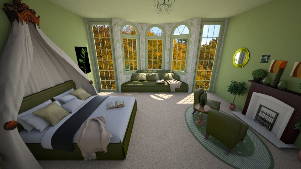 olive you - Bedroom - by cdenton041793