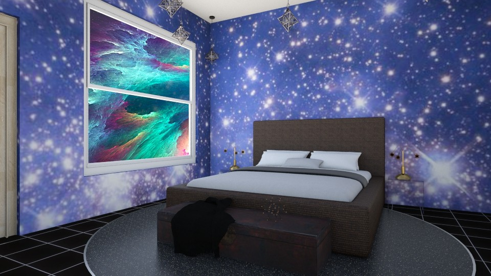 Space Oddity - Bedroom - by Agni Samil