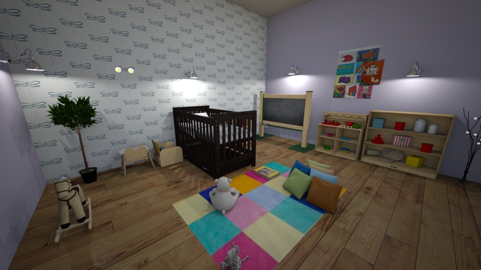 Baby room - by agargidp