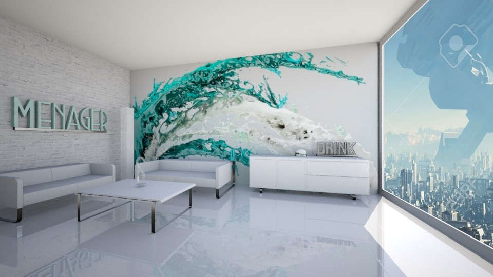 futuristic - Modern - Living room - by xrhstos