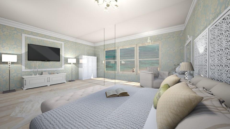Wonderful bedroom - Bedroom - by Liza S