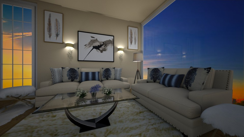 living room  - by graziapiana123