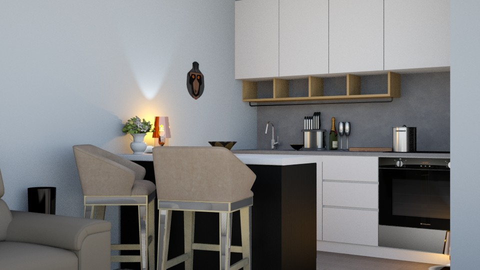kitchen - Living room - by hainstein