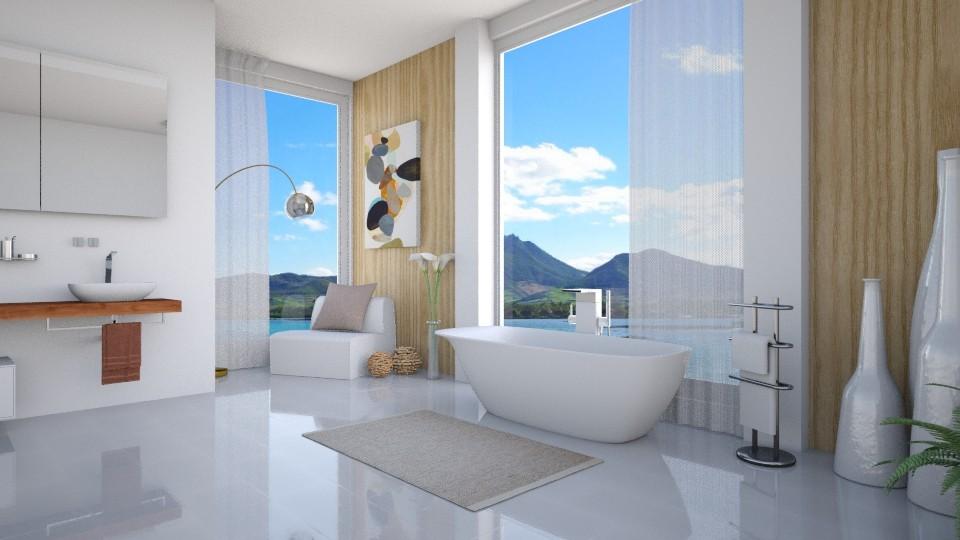 White Natura - Modern - Bathroom - by Rose Hdz