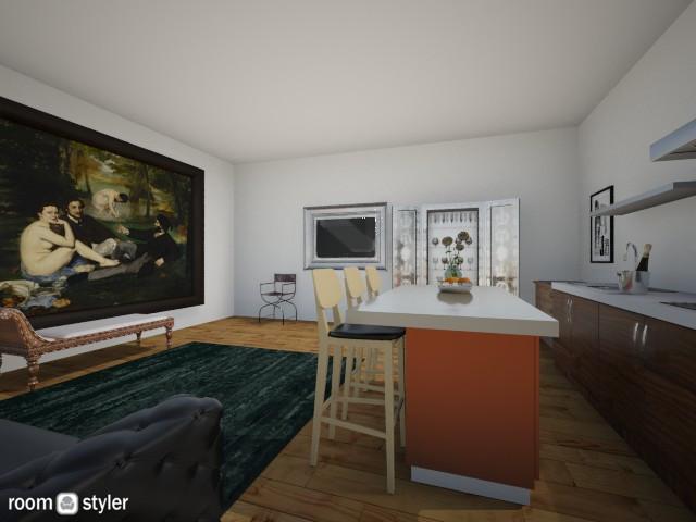 bachelor pad - Living room - by Charlotte Aliceee