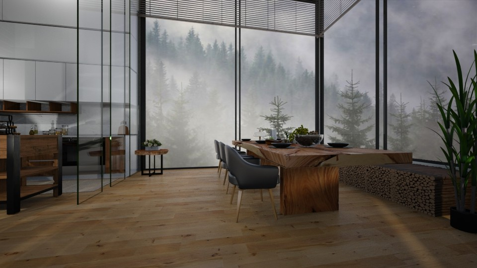 in the clouds - Rustic - Dining room - by patriicia popa