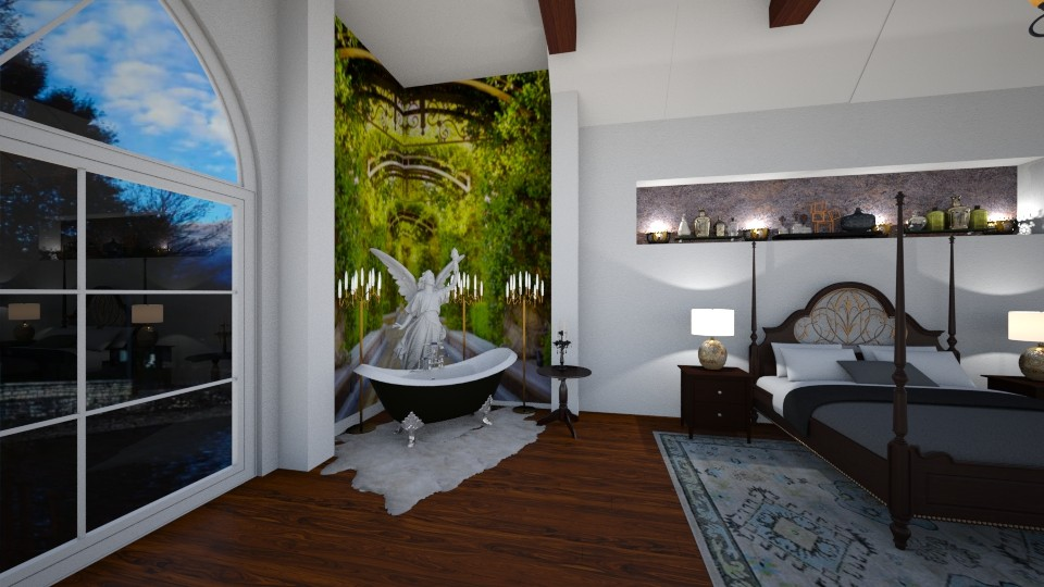 Resort Bath - Living room - by SherryDW