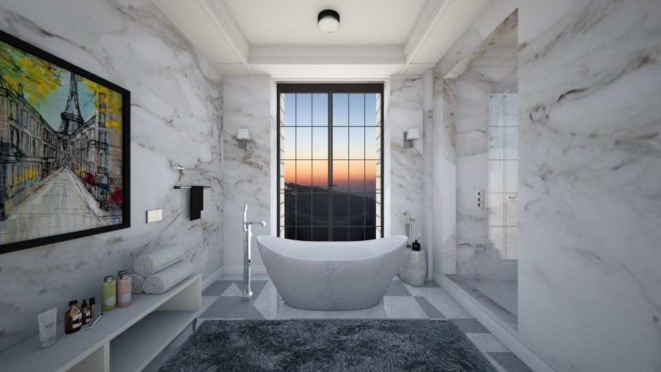 bathroom relax - by kimberlyatenea13