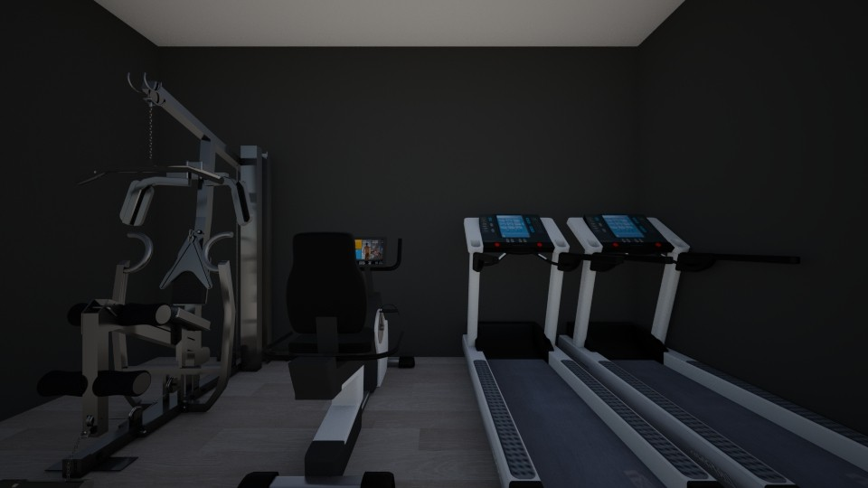 home gym - by LuckyVicky
