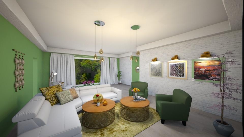 Nature - Living room - by Edyta Bak