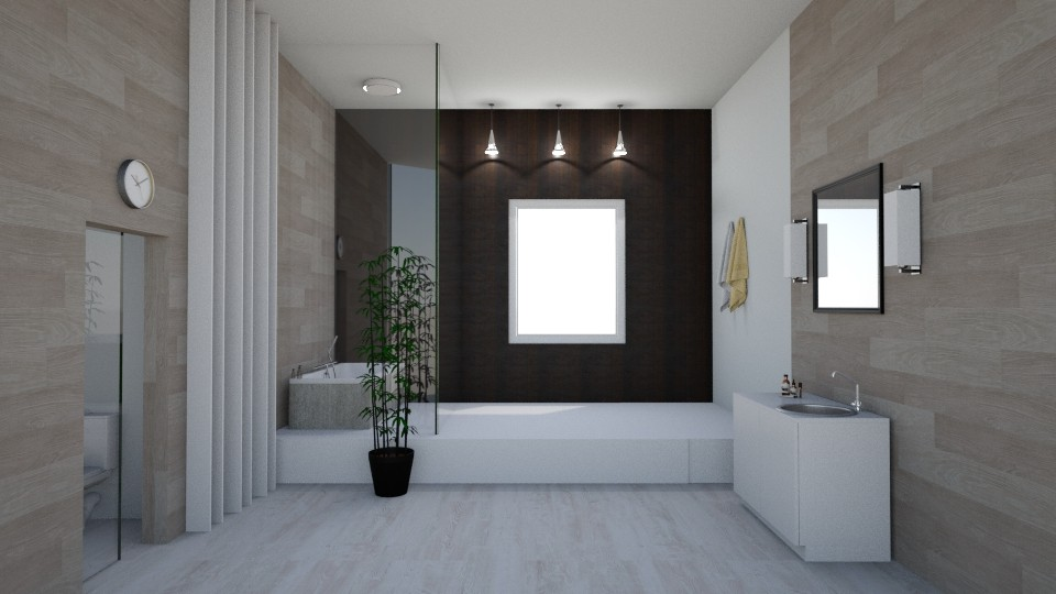 Modern bath - Bathroom - by seasidepine