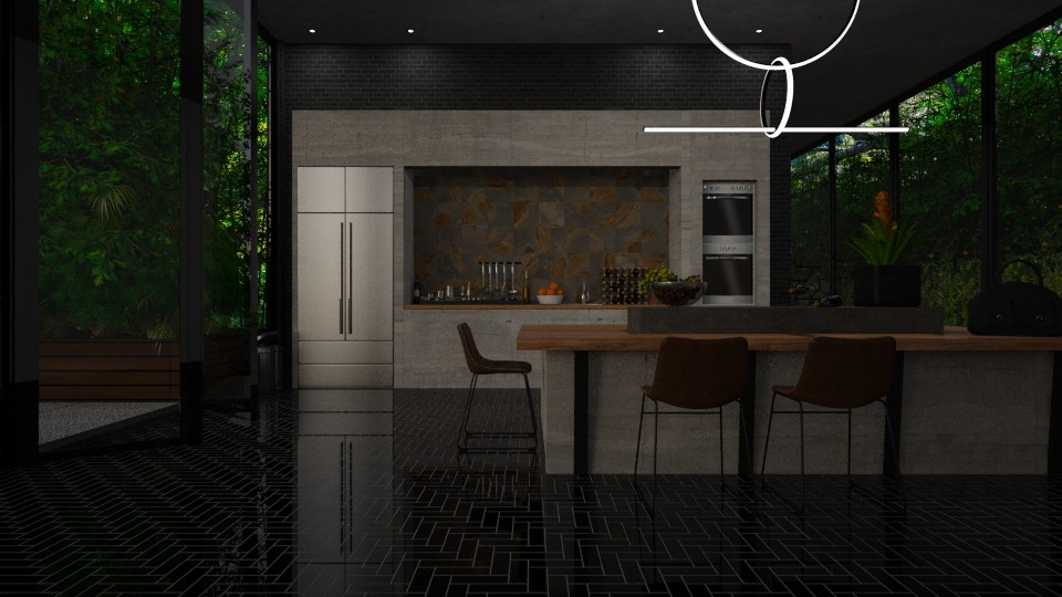 On the rocks - Kitchen - by Amorum X