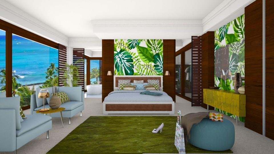 foglie - Bedroom - by Svetlana Baitchourina