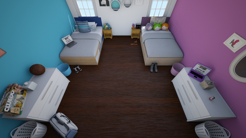 Girl and Boy - Kids room - by Zy121405