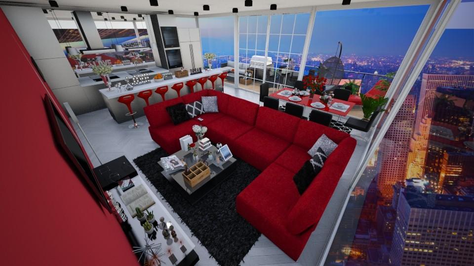 nyc - Global - Living room - by kellynazha
