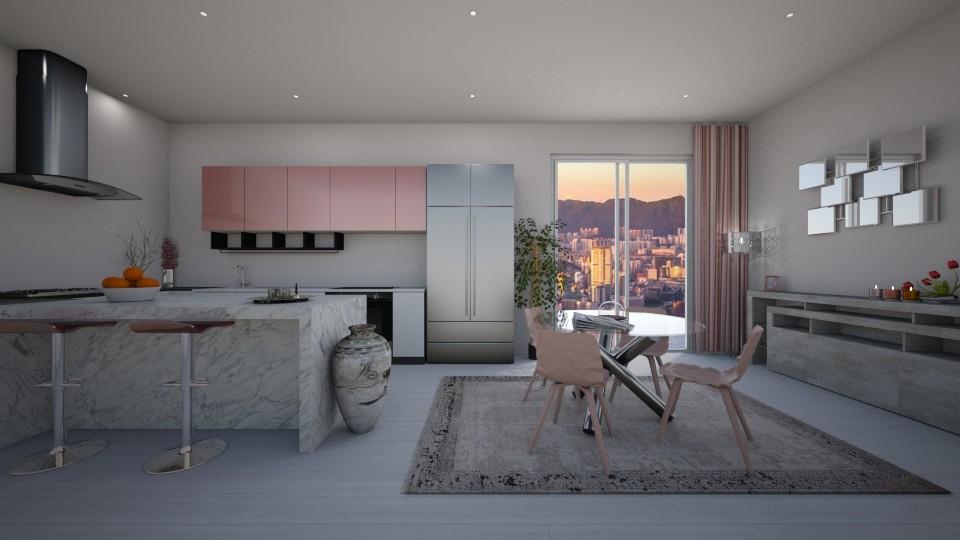 Modern Playful Kitchen - Kitchen - by luxury style