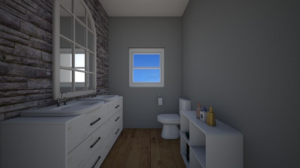 Half Bathroom - Bathroom - by BrynnWisse