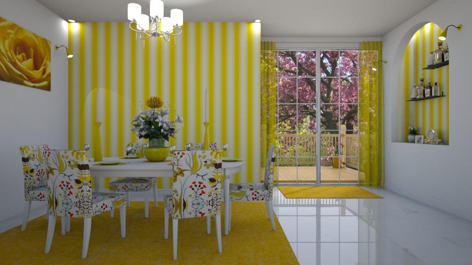 Yellow Stripe - by creato