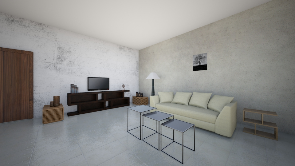 project 2 - Living room - by Tughral