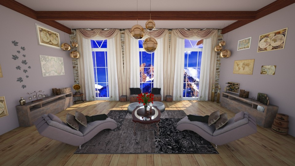 Symmetry Room - by KrisTina94