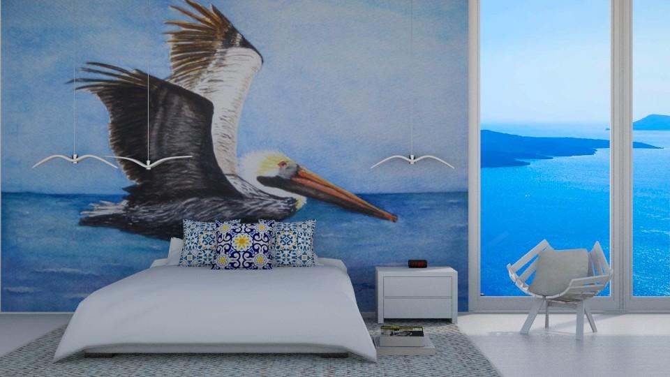 Ocean Bird Lover - Modern - Bedroom - by bgref