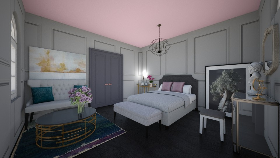 Bedroom - Feminine - Bedroom - by NatalieH