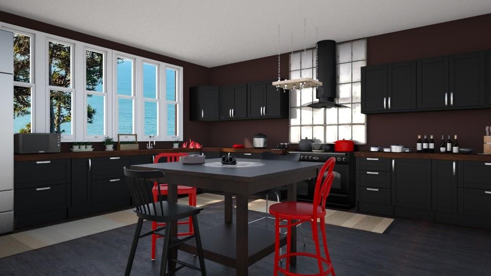 36 - Kitchen - by Raven Storme