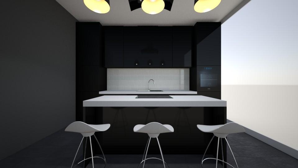 apartmen kitchen - by jakubm87