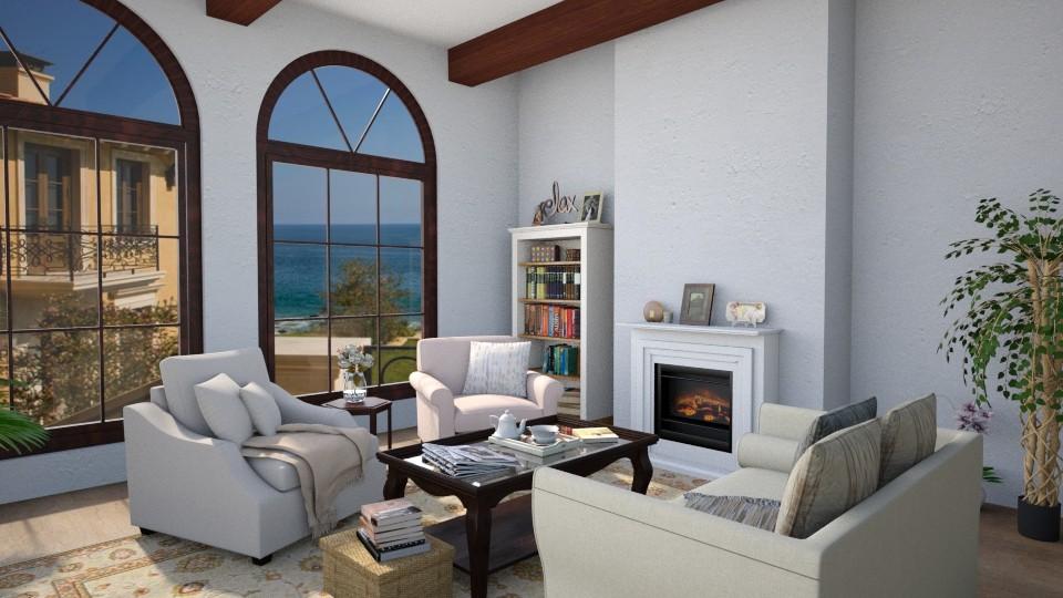 Santa Barbara 3 - Living room - by Valerie Meiner