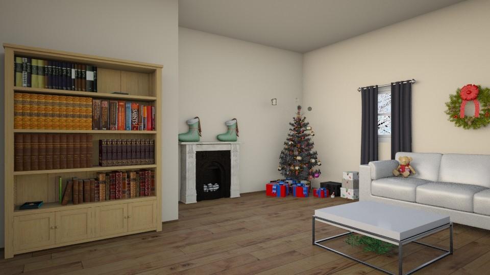 Christmas Living Room - Living room - by KS81boff